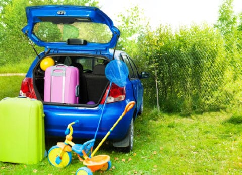 If you're taking a long car trip you need things for the kids to do in the car. This is my ultimate packing list when traveling with kids.