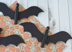Our easy Halloween crafts will be a nice addition to the Halloween decor in your home!