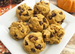 Soft and Chewy Pumpkin Cookie Recipe