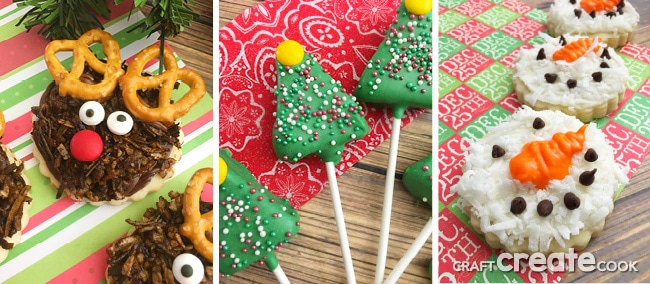 Christmas Cookies from Craft Create Cook