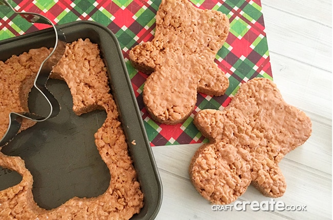 If you love Christmas and you love Rice Krispie treats, you will enjoy these Reindeer Rice Krispie Treats.
