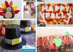 It's time to be thankful and keep the kids busy with these fun Thanksgiving crafts