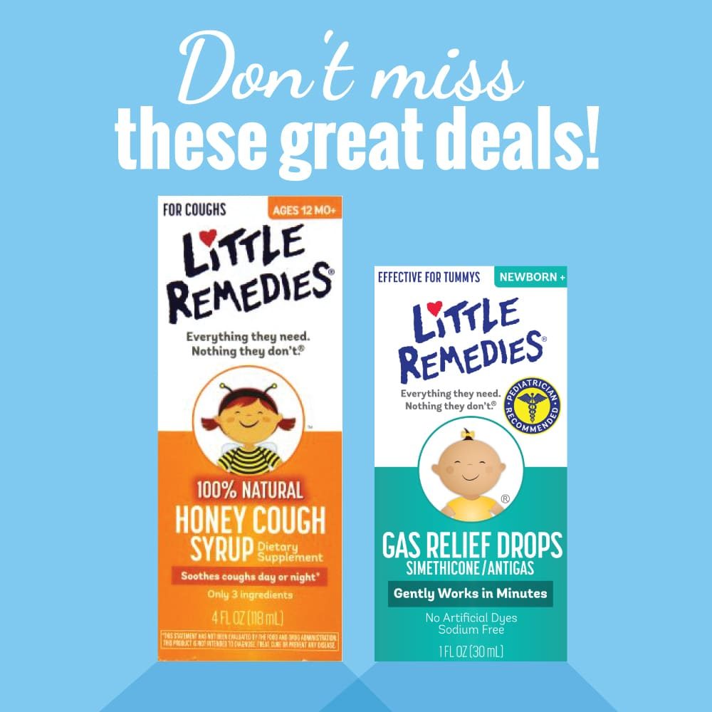 Be prepared with Little Remedies this cold & flu season!