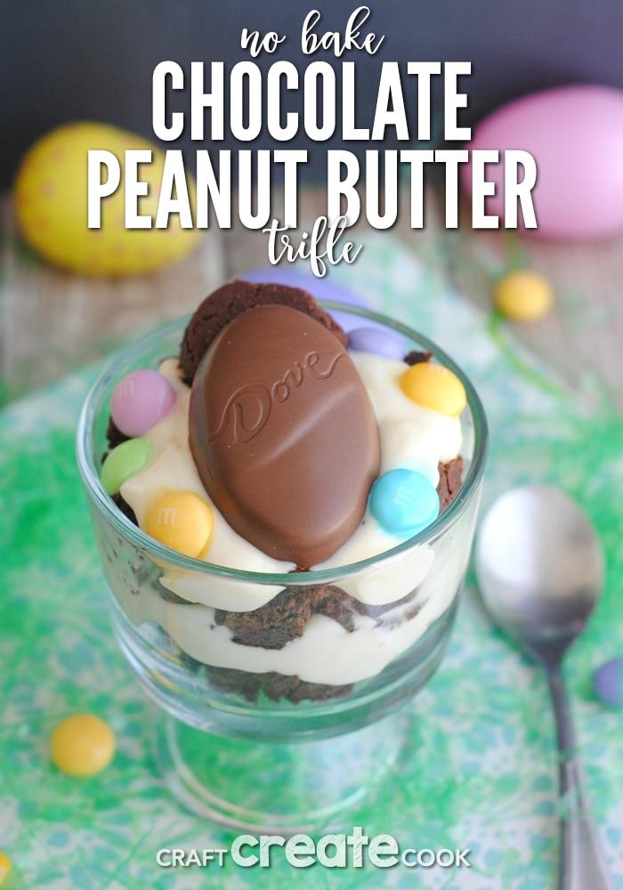 Craft Create Cook - Chocolate Peanut Butter Trifle Recipe - Craft ...